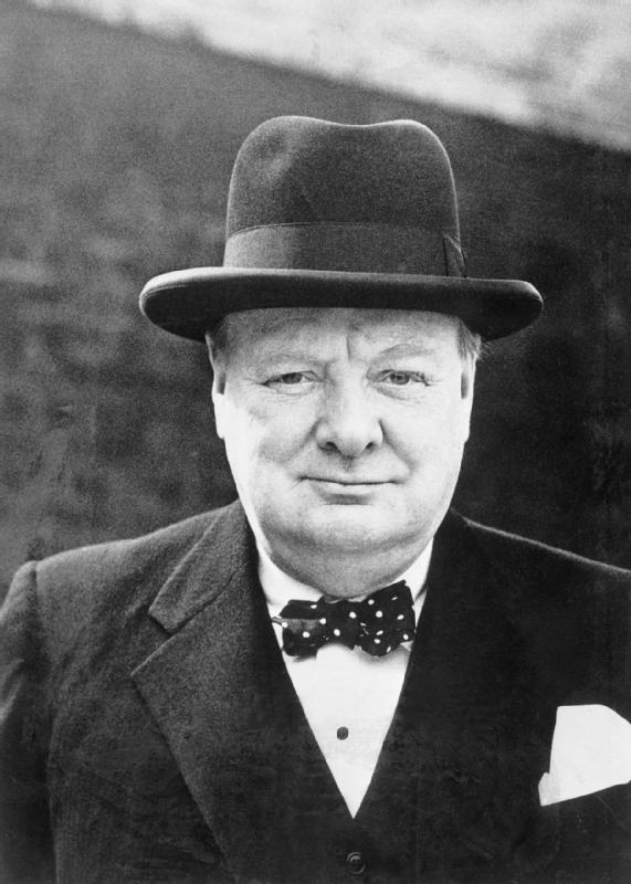 Winston Churchill bowler